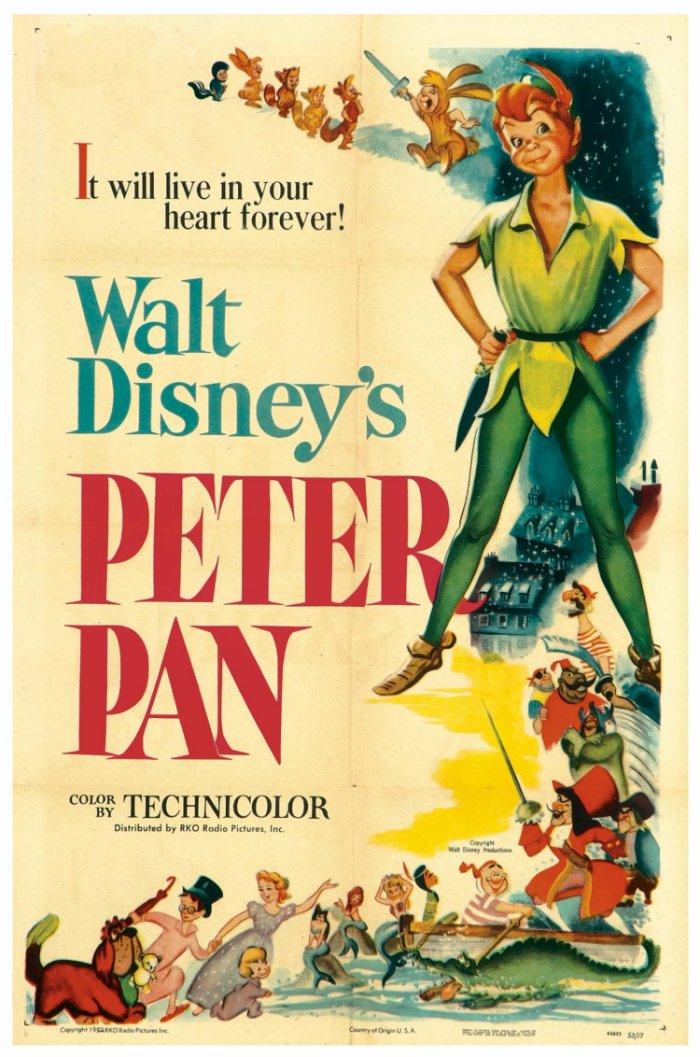 """Peter Pan,"" Walt Disney Productions"